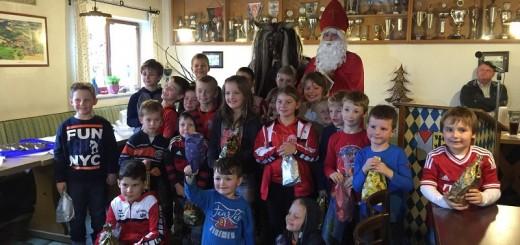 Harmonische Weihnachtsfeier beim Sportverein Haarbach