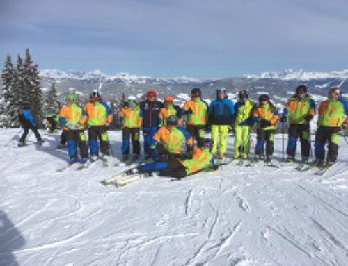Fortbildung der Skilehrer