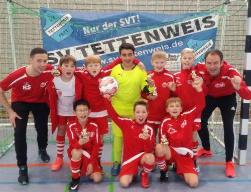 E-Jugend- Teams mit Turniersieg