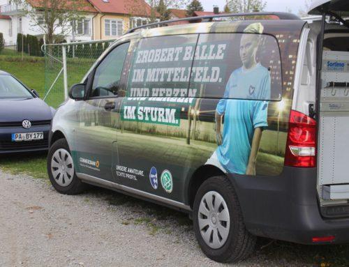 DFB Mobil war zu Besuch beim SV Haarbach