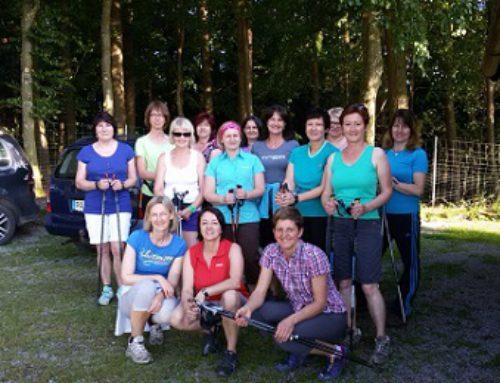 Nordic Walking beim SV Haarbach